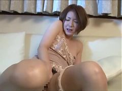 Asian Schoolgirl Seduces Helpless House Mom 2