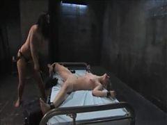 Lesbian Slave dominated