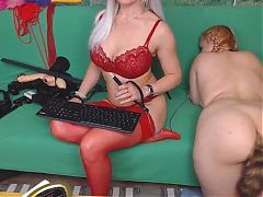 Free Live Webcam Chat with HotMistress