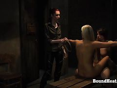 Disappeared On Arrival 2: Lesbian Girls Tied And Punished