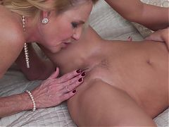 MILF and GILF fuck each other