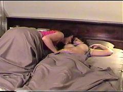 Lesbian wake up call